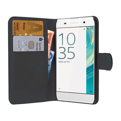 handy tasche f r sony xperia smartphones book style cover. Black Bedroom Furniture Sets. Home Design Ideas