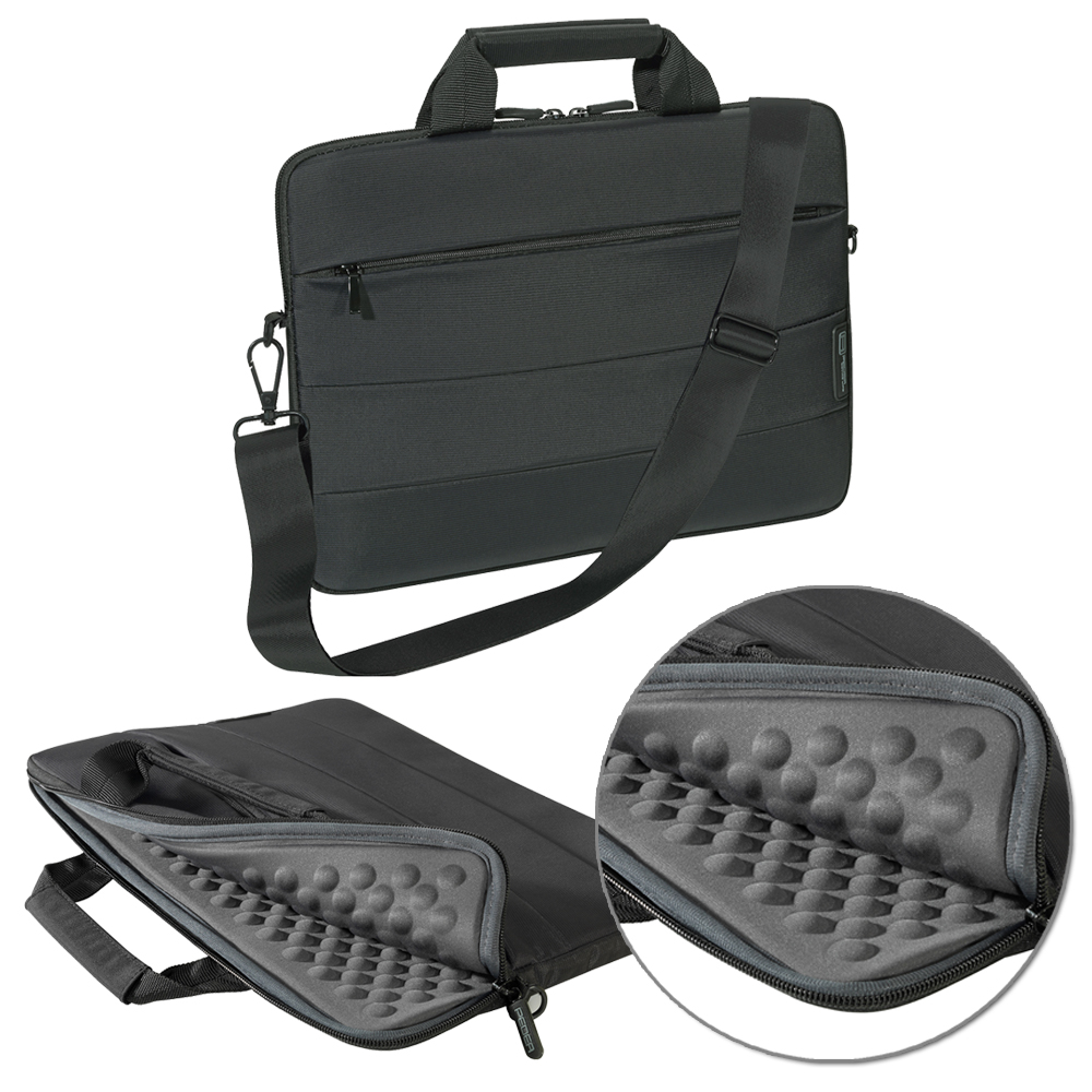 ultrabook notebook tasche f r 13 14 15 zoll schultergurt. Black Bedroom Furniture Sets. Home Design Ideas
