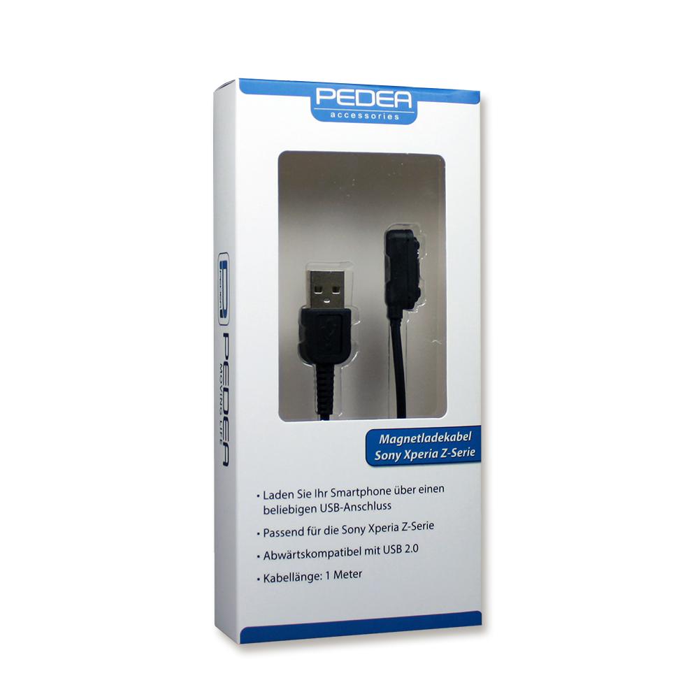magnetladekabel f r sony xperia z1 z2 z3 compact handy. Black Bedroom Furniture Sets. Home Design Ideas